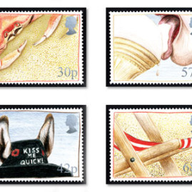 Seaside Themed Stamps