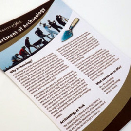 Department of Archaeology Leaflet