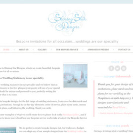 Shining Star Designs Website